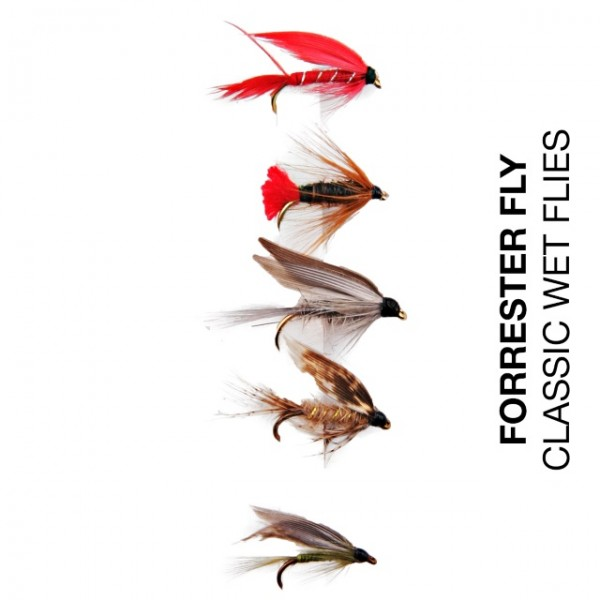 Forrester Fly-Sortiment Classic Wet Flies