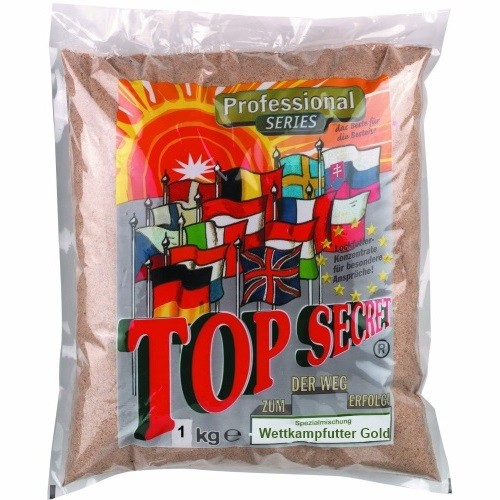 Top-Secret Wettkampffutter Gold 1 kg
