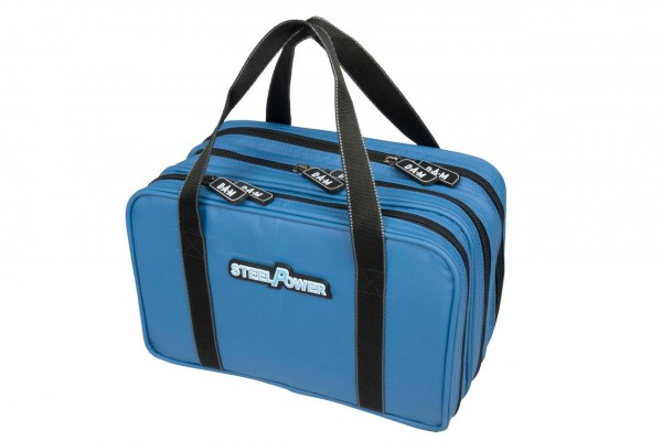 DAM Steelpower Blue Water Repellent Lure Bag