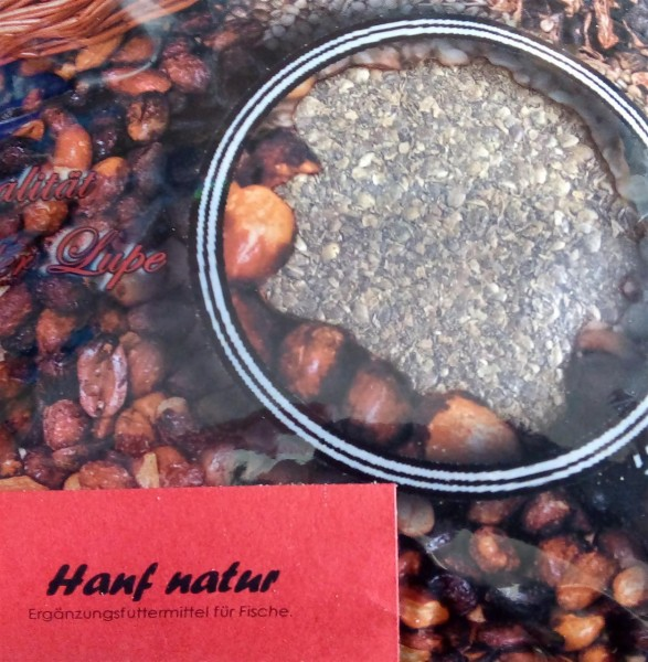 Top Secret Hanf - natur, gemahlen 1 kg
