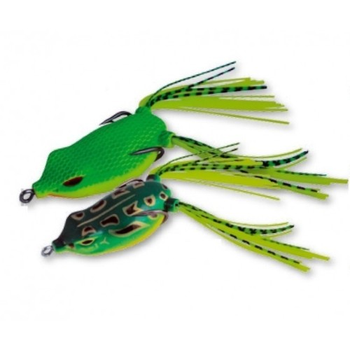 Wobbler Gummi Frog, floating, 55mm