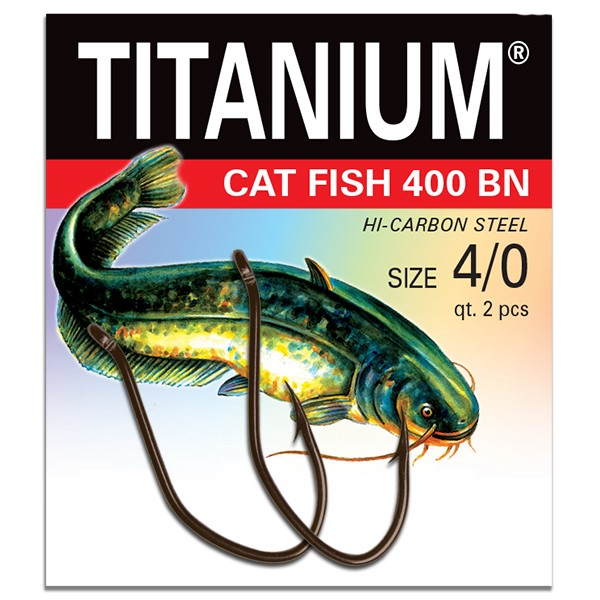 Lose Titanium Cat Fish-Haken