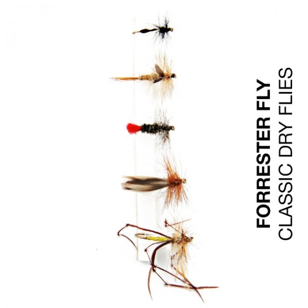 Forrester Fly-Sortiment Classic Dry Flies