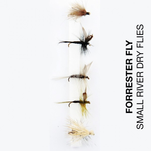 Forrester Fly-Sortiment Small River Dry Flies