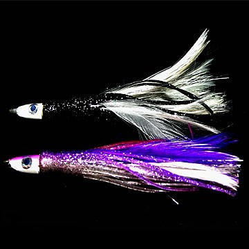 Weighted Feather Tuna Teasers 5 gr