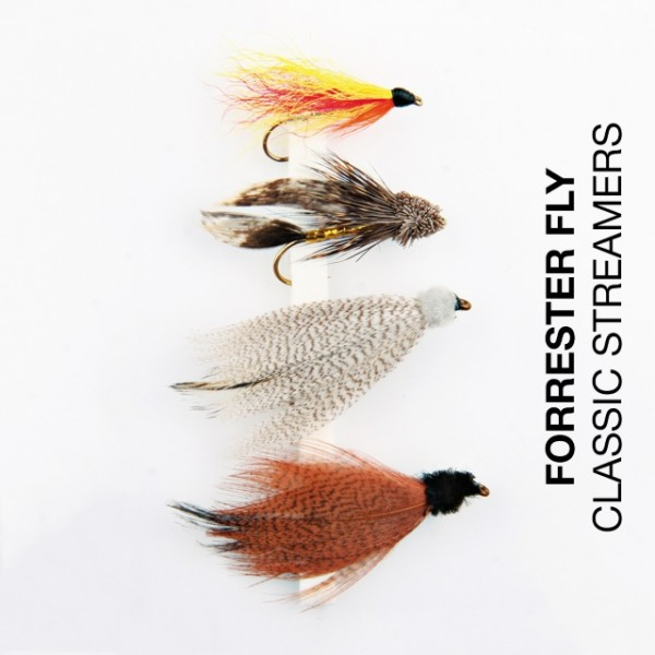 Forrester Fly-Sortiment Classic Streamers